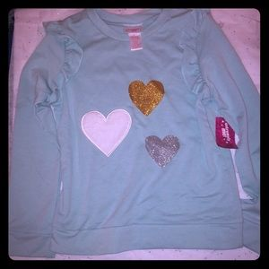 Girls 10/12 Ling sleeve top. 👚 NWT